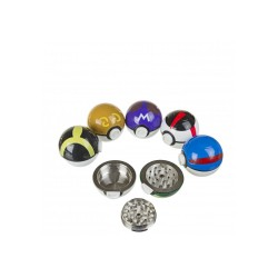 Metal Pokemon grinder | Dark & Light green park ball