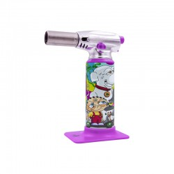 Dunkees art | Torch lighter | Snowball Purple