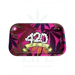 420 All the time | Rolling Tray | Medium