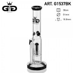 Grace Glass bong | Ice Guard Black