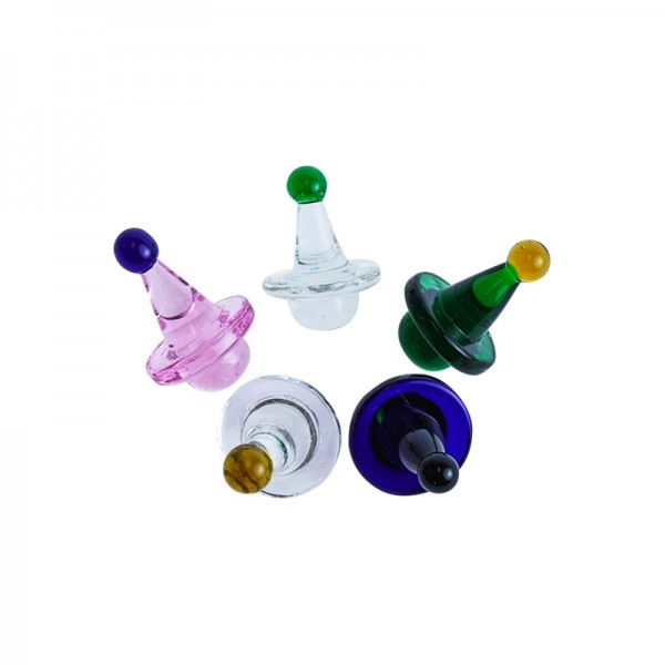 Fancy trompo spinner carb cap 2.5cm | Different colors