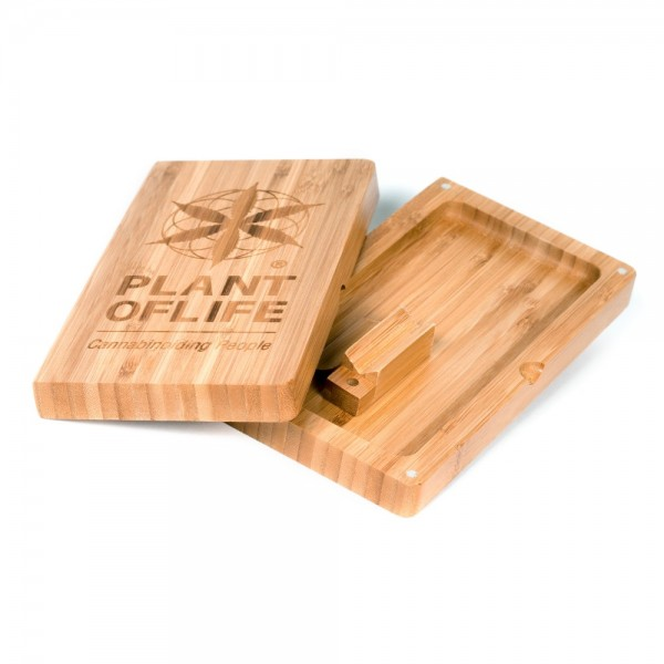 Bamboo Plant of life rolling tray | BOX