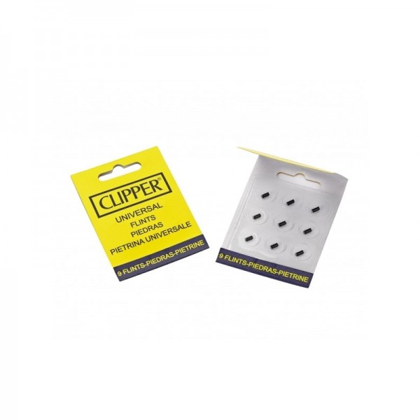 Clipper flints | 9pcs