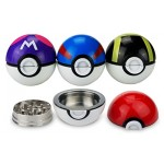 Metal pokemon grinder | Black & Red timer Ball