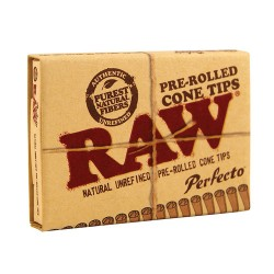Raw perfecto prerolled cone tip