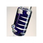 Blaze Glass M&M Tube with cooling spiral   Blue