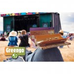 Greengo Festival pack Kingsize Slim | rolling tray | Brown silk FLY tips