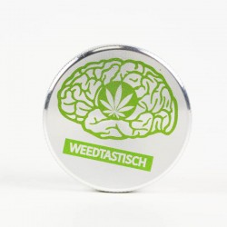weed grinder | 2 part | Weedtastisch | Aluminium |  Ø 50mm