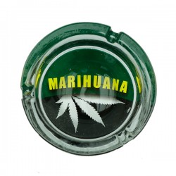 Ashtray | marijuana | glass