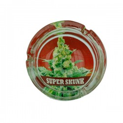 Ashtray | Super skunk | glass