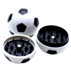 Weed grinder | 2 part | Soccerball | Acryl