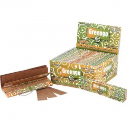 Greengo King Size Slim Papers 2in1 BOX (24pcs)