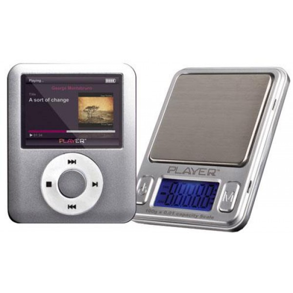 Pro Scale Mp3 Player 100 | 0,1 x 100 gr
