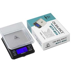 On Balance Mini Table Top Digital Pocket Scale MTT-500 | 500 x 0.1 g.