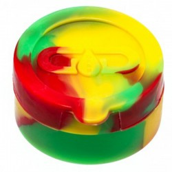 Grace Glass Dabs Rasta Silicone Jar Ø:40mm