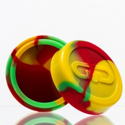 Grace Glass Dabs Rasta Silicone Jar Ø:55mm
