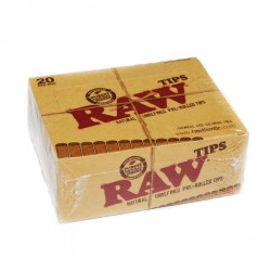 RAW tips prerolled Box 20 Pcs
