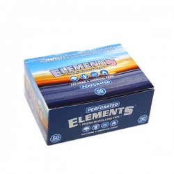 Elements Rolling tips | Perforated | Box 50 Pcs