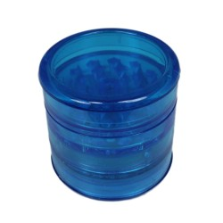 Weed grinder super | 5 part  | acrylic | Blue | Ø 60mm