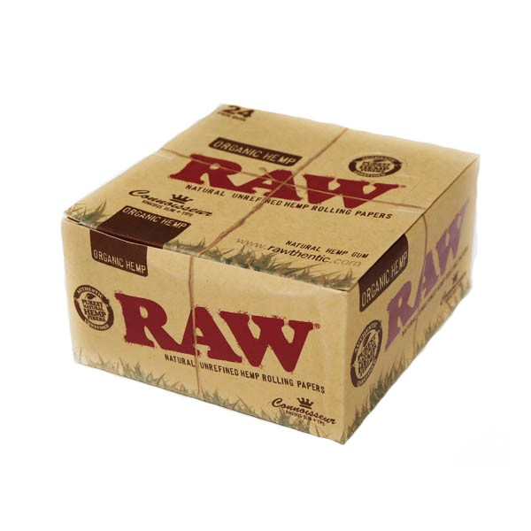 Raw Organic Kingsize Slim with filtertips BOX 2 IN 1