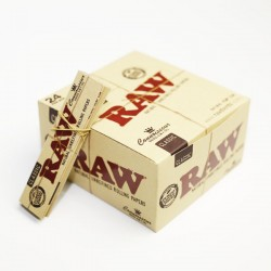 Raw classic connoisseur kingsize with filtertips BOX