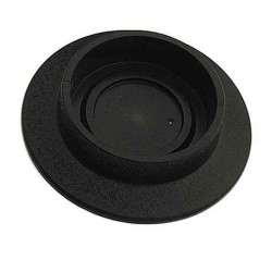 Plastic Base Black Ø 1,5 inch / 38.1 mm