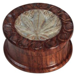 weed grinder | 2part | rosewood | Ø55mm
